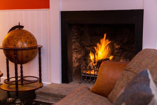 The Inn at Loch Tummel: The residents snug