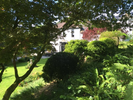 South Brent, UK: House from the garden