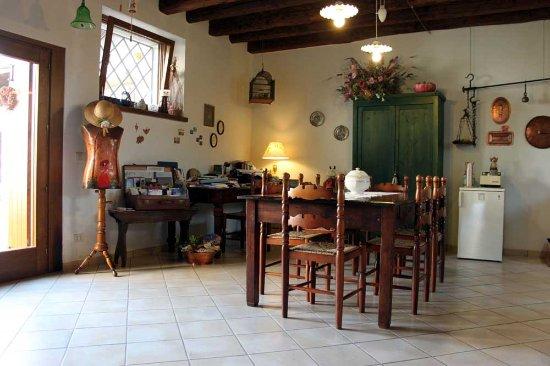 Bed and Breakfast di Villa Ottelio: Living Room