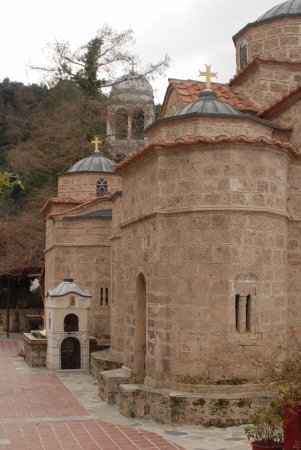 Loutra Ipatis, Hellas: The 16nth century church