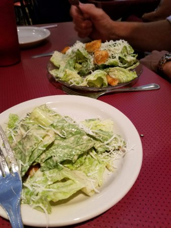 Enrico's Italian Restaurant: We split the caeser salad - very cold and crisp ! Excellent