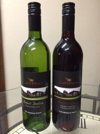 Bella Vista, AR: Our signature Amici Wine!