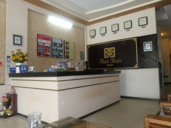 Than Thien Hotel - Friendly Hotel: reception