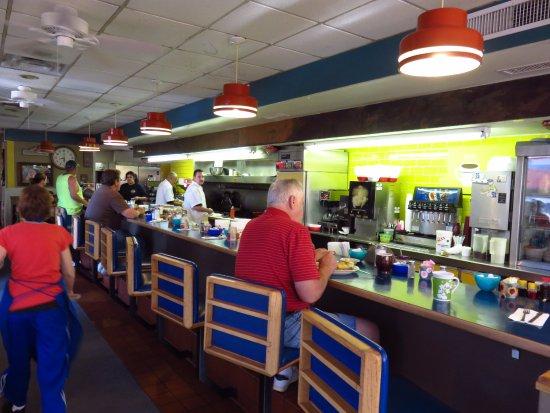 Waffle & Pancake Shoppe: 店内の様子