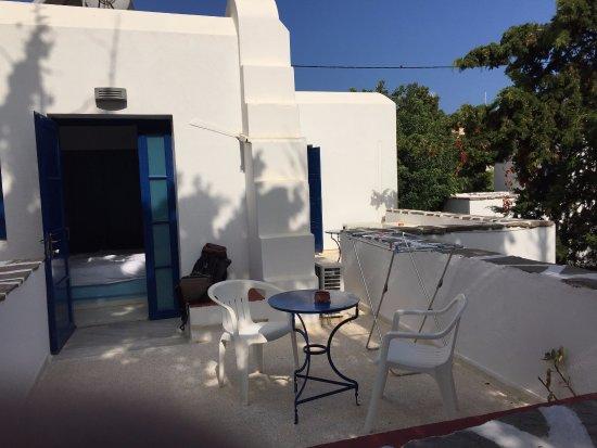 Casa di Roma: La terrasse de la chambre