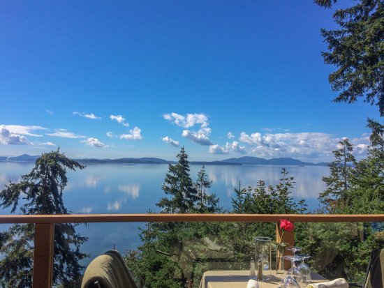 Bow, WA: Idyllic view of Chuckanut Bay!