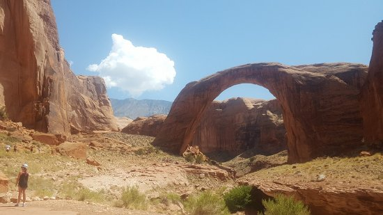 Bullfrog, UT: Hiking to Rainbow Bridge