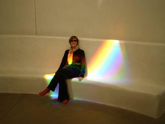 Las Vegas, Nuevo Mexico: The rainbows move and change shape as the earth rotates