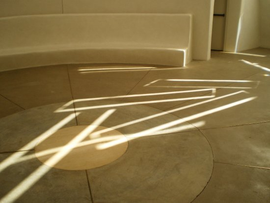 Las Vegas, Nuevo Mexico: The patterns on the floor shift constantly