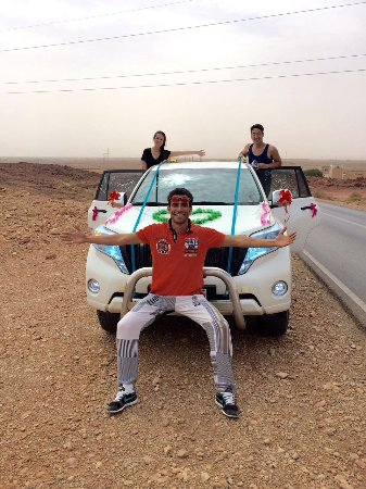 Marrakech Weekend - Day Tours : With Hamid in our decorated car