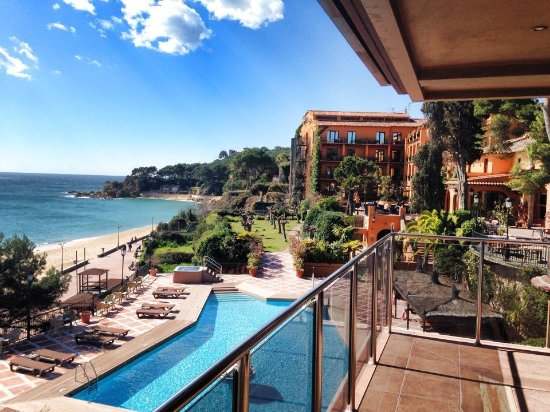 Rigat Park & Spa Hotel: vistas mar