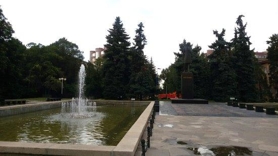 Monument to Chokan Valikhanov