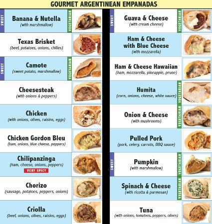 Irving, Teksas: 18 delicious flavors of Gourmet Argentinean Empanadas!