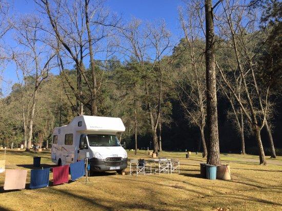 Merry Pebbles Resort: Veel ruimte op de camping