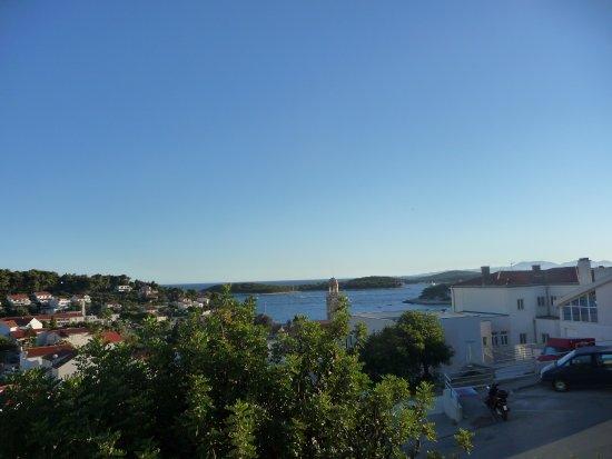 Guesthouse Paulina : vista dal balcone