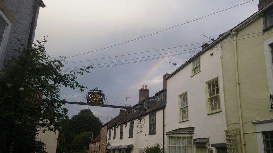 Nunney, UK: George & Rainbow