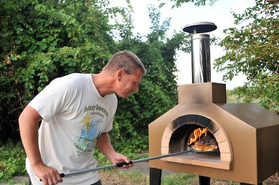 Browntown, WI : Pizza made in wood fired oven for appetizers at Inn Serendipity