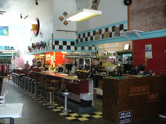 Colorado City, تكساس: Step on up to the soda fountain