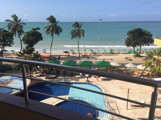 Aquaria Natal Hotel: Vista da sacada