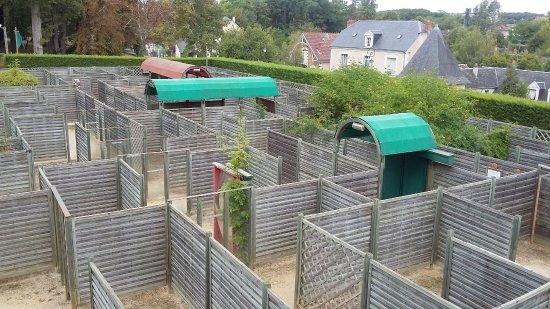 Valencay, Francja: Le Labyrinthe Napoléon, ludique et instructif !
