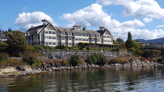 The Chrysalis Inn & Spa: From the walking pier.