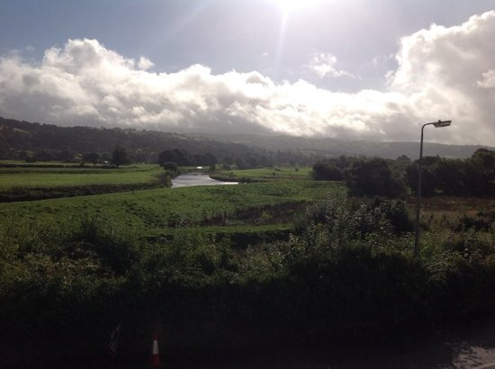 Trefriw, UK: and the sun came out