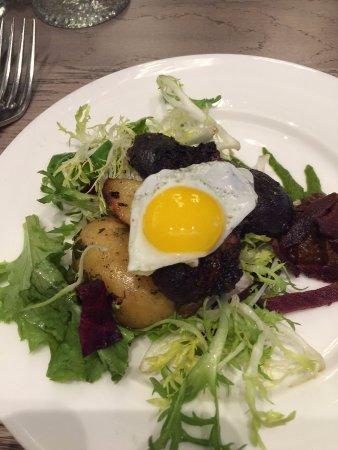 Lenox, MA: Filet with quail egg