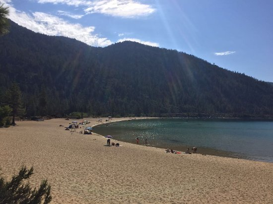 Lake Tahoe Nevada State Park: Sand Harbor, Lake Tahoe