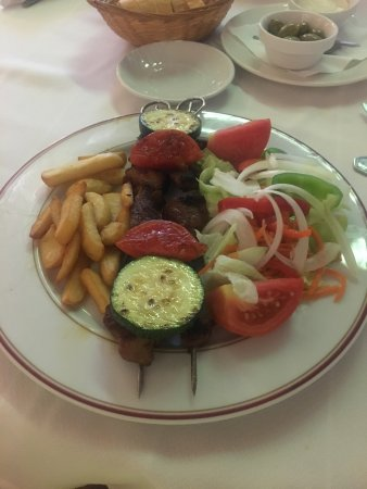 Restaurante Pepe Caribe : Pork kebabs