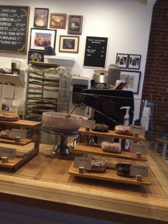Clayton, MO: Turtle, sprinkles, lemon lavender, chocolate glazed, french toast