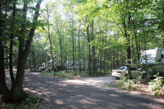 Baileys Harbor, WI: A beautiful camping ground