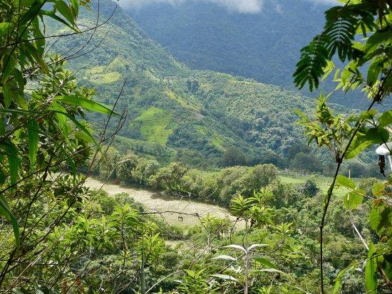 El Refugio de Intag Cloud Forest Lodge: View from mirador.