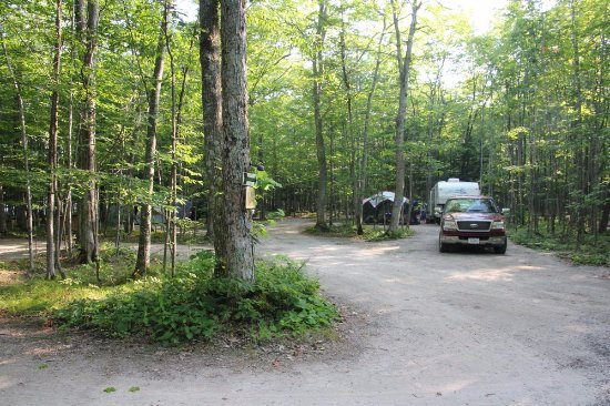 Baileys Harbor, WI: Great camping spots