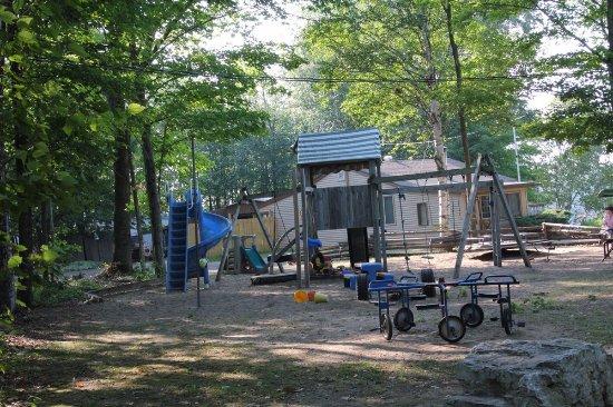 Baileys Harbor, WI: The playground