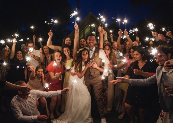 Ash, UK: Wedding fun