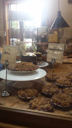 East Aurora, NY: baked goods at elm street bakery