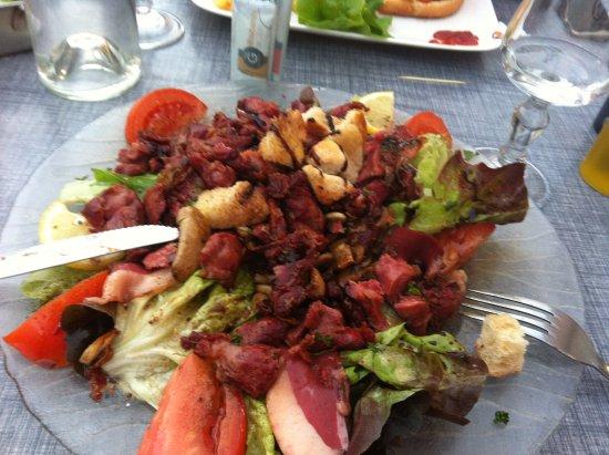 Remiremont, Francia: salade de gessier