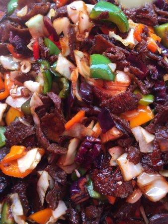 Bombay Wok: Stir fry lamb