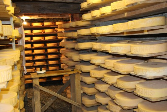 Zinal, Svizzera: La fromagerie de l'alpage de Singlinaz