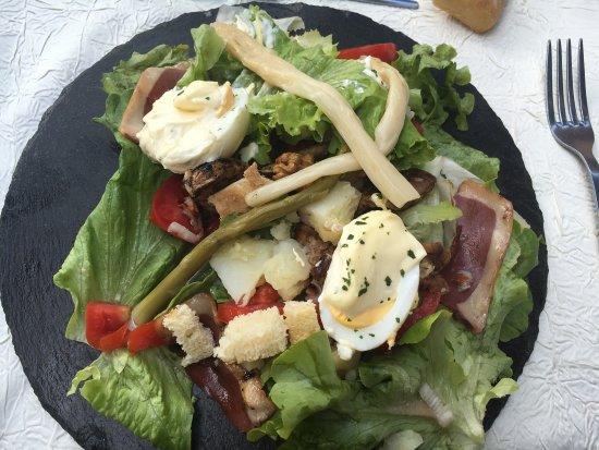 Montmelian, França: Salade landaise