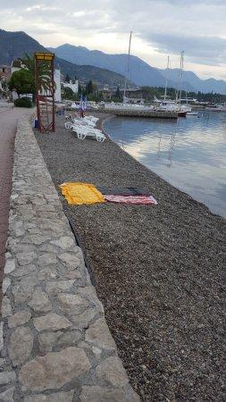 Hotel San: пляж отеля (бесплатный)