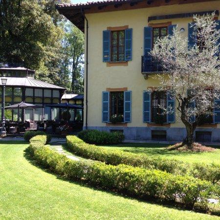 Hotel Villa Beccaris: Le beau jardin de la villa Beccaris