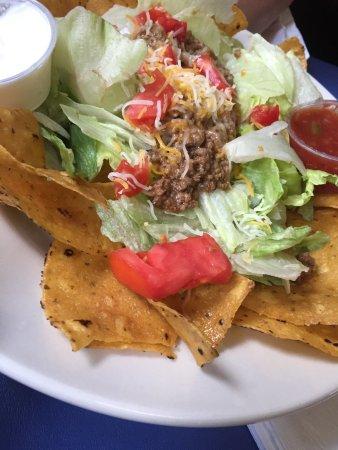 Niles, Μίσιγκαν: Taco salad