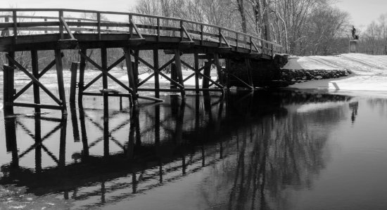 North Bridge, Concord, MA