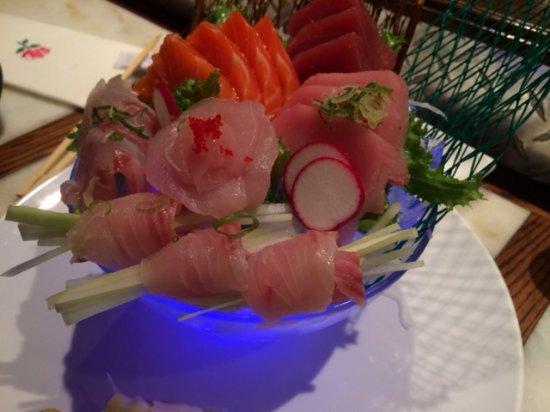 Westport, CT: sashimi deluxe