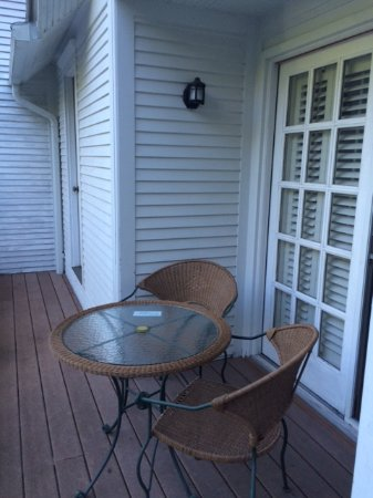 Thorp House Inn and Cottages : Everil room's balcony
