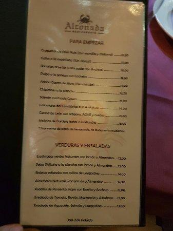 restaurante alconada madrid