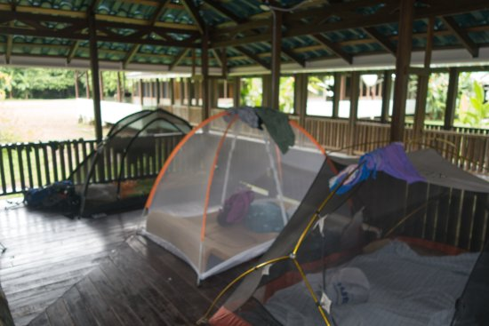 Surcos Tours : The tents provided by Surcos tour