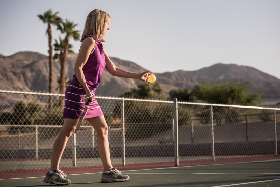 ‪‪Caliente Springs Resort‬: Tennis and Pickle Ball courts‬