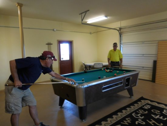 Oasis RV Resort: Our game room is open!
